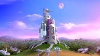 Matte painting for Danone Actimel, TV commercial, Client: Animationsfabrik, 2013 © Animationsfabrik