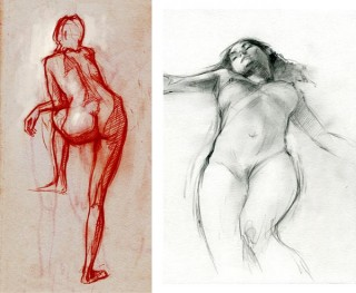 life drawing in Hamburg, Germany, 2007 © Jan Philipp Schwarz