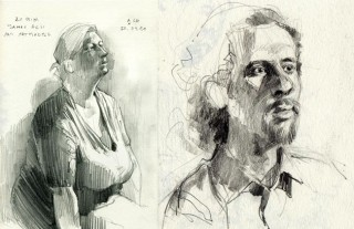 ASH life drawing class in Hamburg, Germany, 2011 © Jan Philipp Schwarz