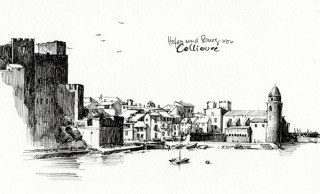 the old harbour of Collioure, France, 2008 © Jan Philipp Schwarz