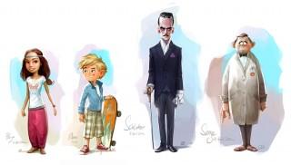 """Main characters for """"Der Kleine Medicus"""", Position: Character Design Supervisor, Client: Wunderwerk, 2014 © Wunderwerk, DKM, Zeitsprung Pictures & Prof. Dietrich Grönemeyer"""