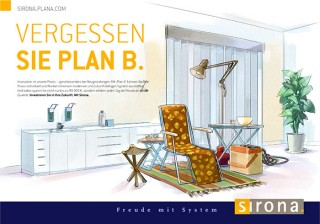"""Forget plan B"" it says, go for Sirona. Client: Heye, 2016 © Jan Philipp Schwarz"