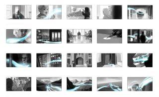 Shootingboard for a bank image film, Client: Eitel Sonnenschein (Cologne), 2018 © Jan Philipp Schwarz
