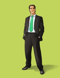 individual animatic pose for TannoLact, Client: Bayerl & Partner (Munich), 2013 © Jan Philipp Schwarz