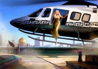 Image campaign for Berlin with Donatella Versace, Client: Dorland, 2013 © Jan Philipp Schwarz